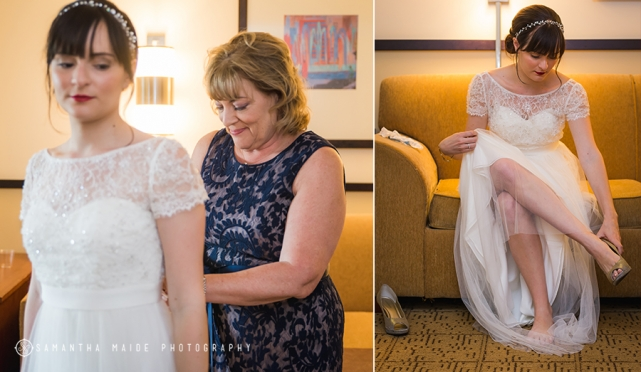 Madison State Capitol Wedding