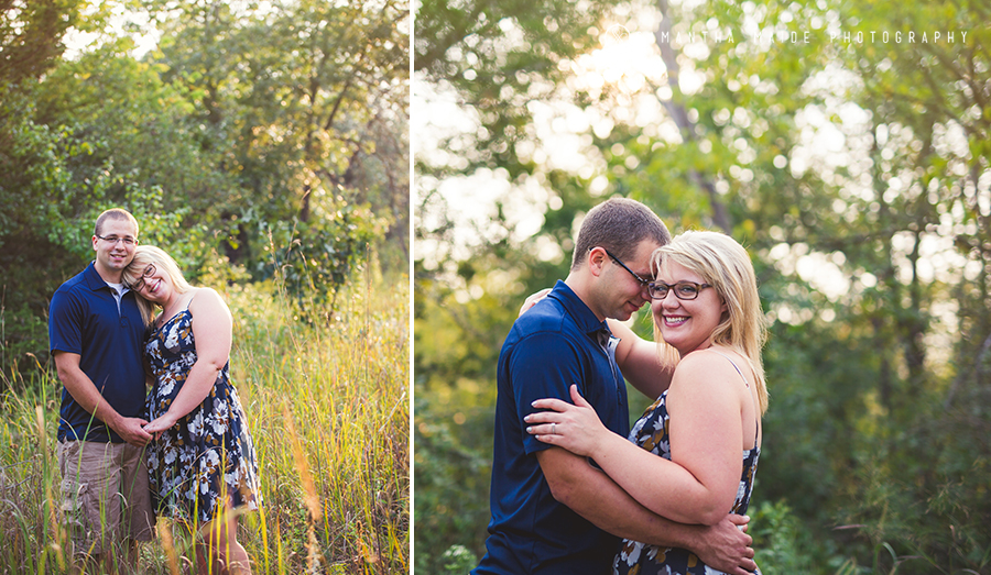 Wisconsin River Engagement session