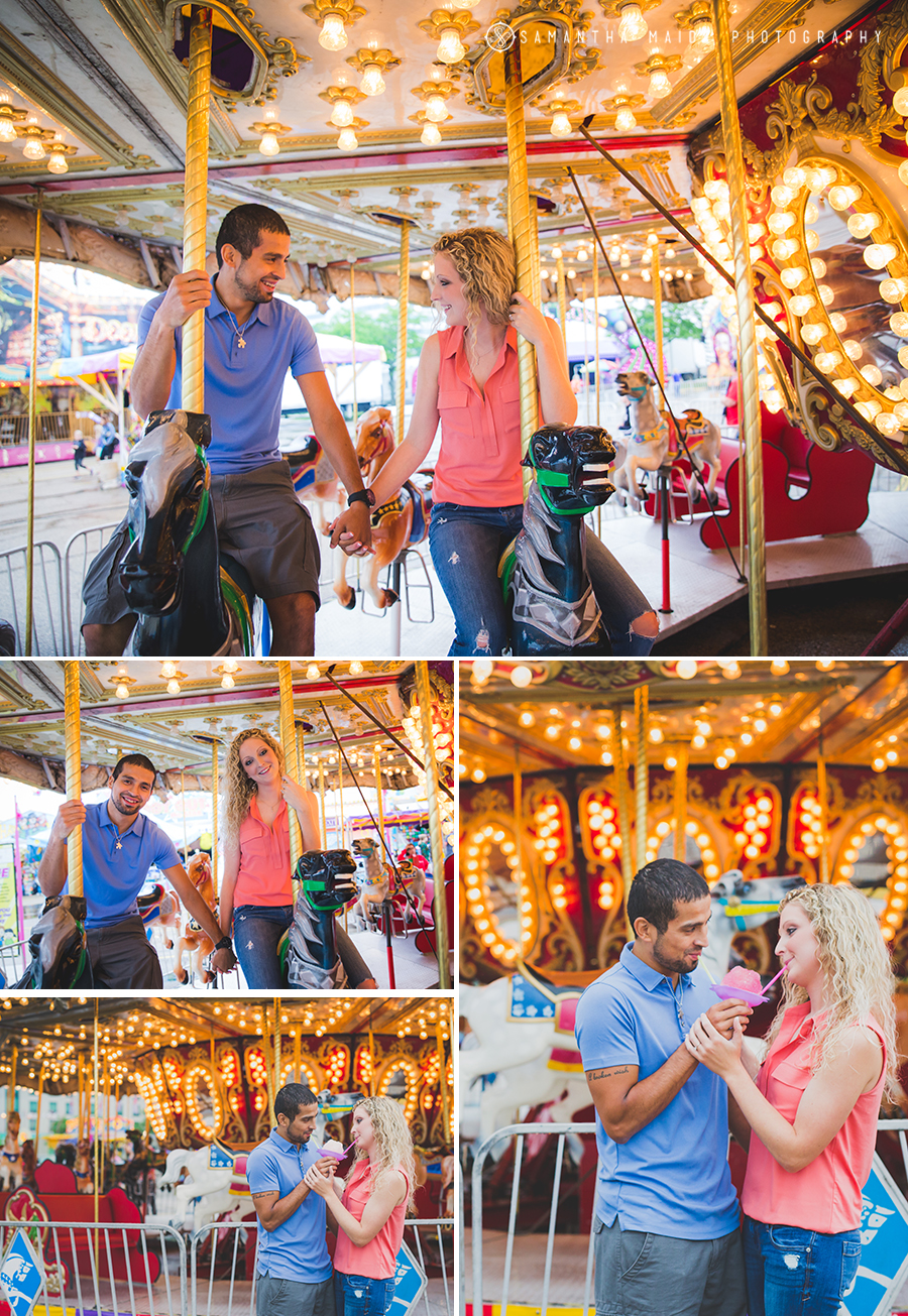 Carousel Engagement session