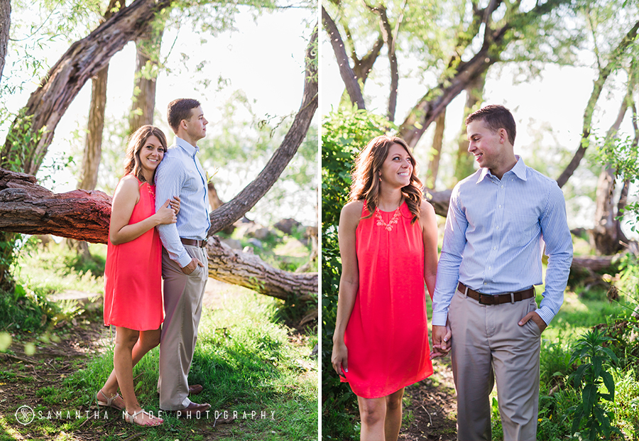 Tenney Park Engagement session